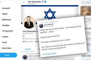 Netanyahu'nun oğlundan İslamofobik paylaşıma destek