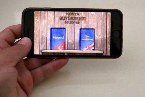 Konya Büyükşehir Belediyesi'nin mobil Mesnevi uygulaması