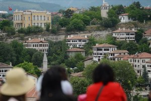 Safranbolu yılın 8 ayında nüfusunun 18 katı turist ağırladı