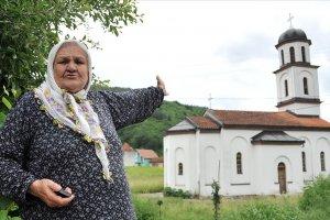 Sırplar bahçeme izinsiz kilise inşa ettiler