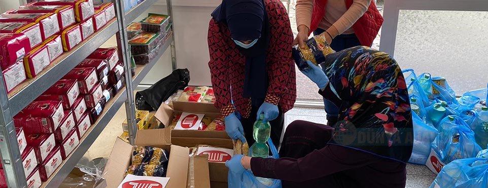 DİTİB camisinden ramazan boyunca ihtiyaç sahiplerine iftar paketi