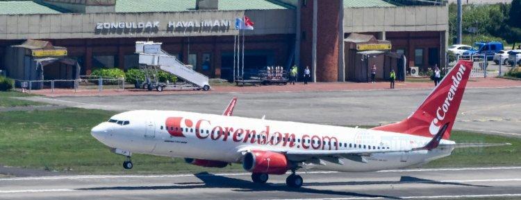 Corendon Airlines Zonguldak Havalimanı'na ilk seferi yaptı
