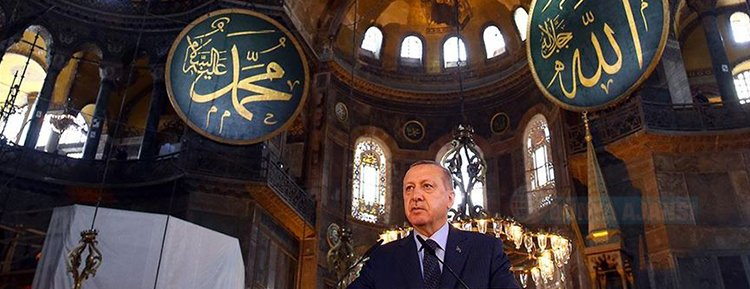 Cumhurbaşkanı Erdoğan, Ayasofya'nın ibadete açılmasına ilişkin kararnameyi imzaladı