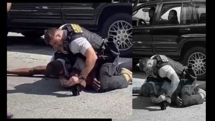 ABD'de bir siyahiyi yumruklayan polis şefi görevinden alındı