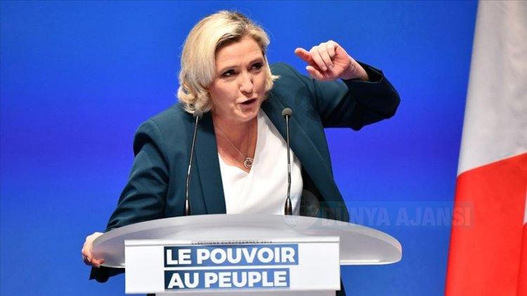 Aşırı sağcı Le Pen, Türkiye konusunda rakibi Macron'a destek verdi