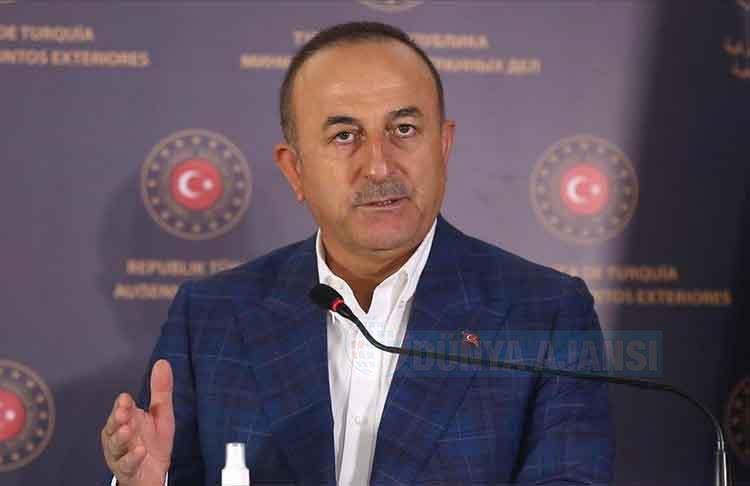 Dışişleri Bakanı Çavuşoğlu, 'Yunan gazetesi Cumhurbaşkanımızla alçakça bir manşet attı'