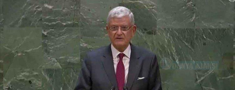 BM 75. Genel Kurul Başkanı Volkan Bozkır görevine bugün başladı
