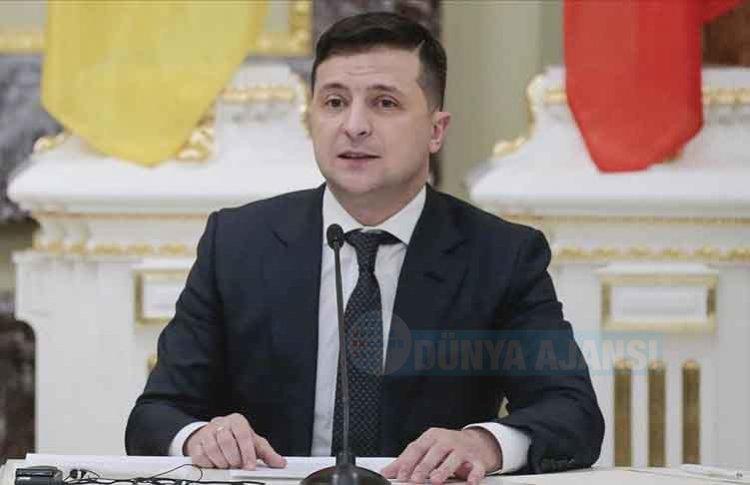 Ukrayna Devlet Başkanı Zelenskiy'den Türk şirketine teşekkür
