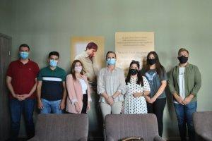 DEB Partisi Başkanı Çiğdem Asafoğlu gençlerle buluşma programı