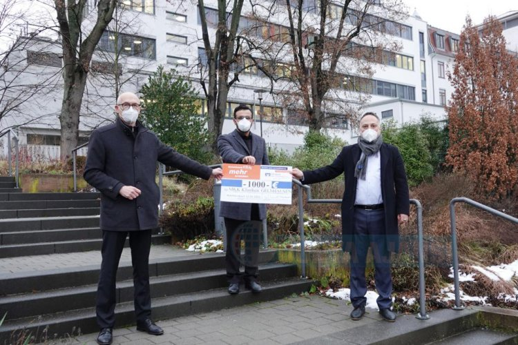 Wächtersbach DİTİB Camii'nden hastaneye anlamlı destek