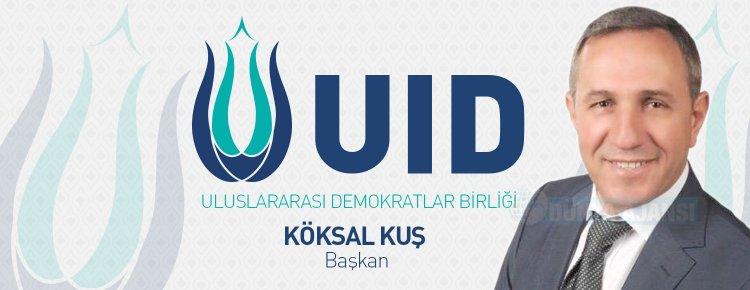 Uluslararası Demokratlar Birliği'nin genel başkanı Köksal Kuş oldu