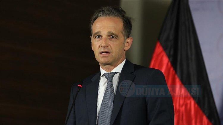 Almanya Dışişleri Bakanı Maas: Irkçılık günlük hayatta sıradanlaştı, yaşamı mahvediyor, öldürüyor