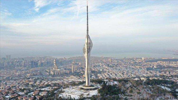 Avrupa'nın en yüksek kulesini: Çamlıca Kulesi