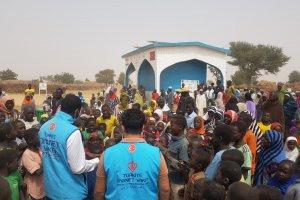 Türkiye Diyanet Vakfı Nijer'de 15 su kuyusu ve vakıf çeşmesi açtı