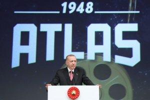 """Cumhurbaşkanı Erdoğan, """"Atlas sinemamız aynı zamanda yaşayan bir müze olacak"""""""
