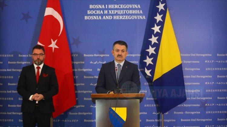 Türkiye ile Bosna Hersek arasında 'Serbest Ticaret Anlaşması'