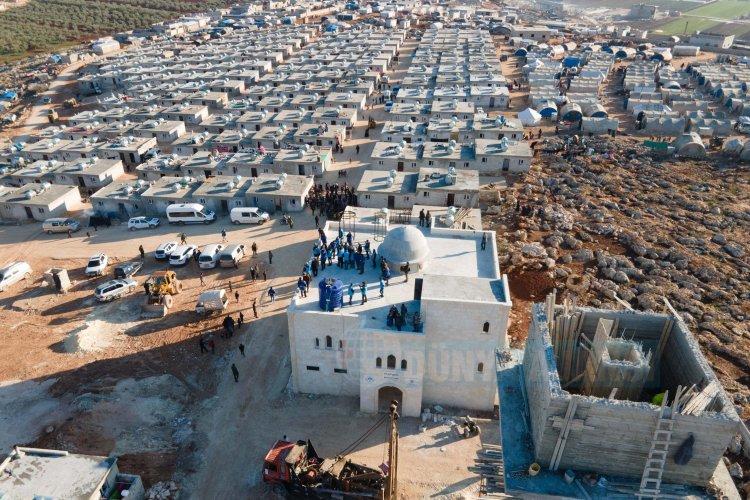 TDV şubelerinden İdlib'e konut seferberliği