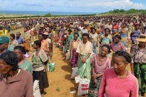 Madagaskar'da Türk yardım kurumlarından 5 bin aileye gıda yardımı