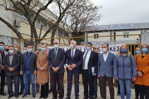 Batı Trakya'da encümen seçimi erteleyen Miçotakis hükümeti protesto edildi