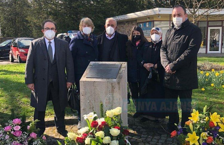 Almanya'da ırkçı terör kurbanı Halil Yozgat anıldı