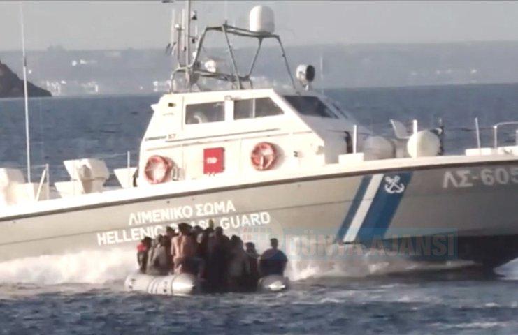 Yunanistan'ın mültecilere karşı yasa dışı uygulamalarını Alman ZDF kanalı belgeledi