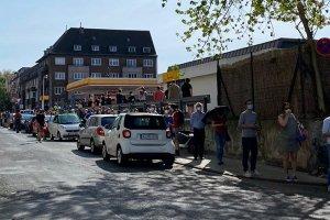 Köln DİTİB Merkez Camii'nde 3200 kişi Kovid-19 aşısı oldu