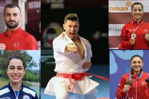 Milli karatede 5 olimpiyat kotası birden