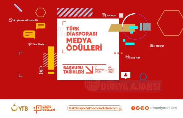 YTB'den yurt ışındaki iletişimciler için ''Türk Diasporası Medya Ödülleri''yarışması