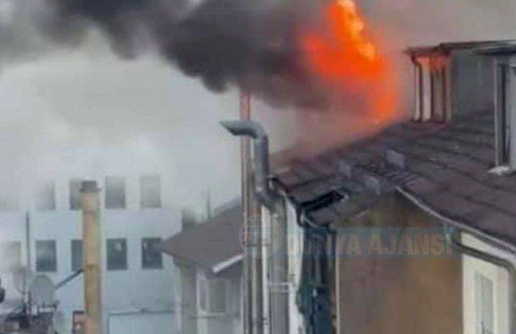 Almanya'da Türklerin yaşadığı bina kundakladı
