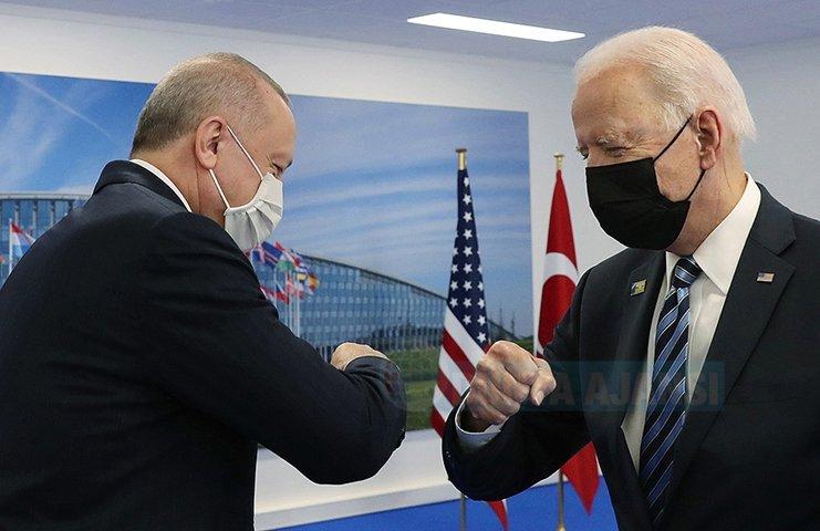 Cumhurbaşkanı Erdoğan ile ABD Başkanı Biden görüşmesi verimli geçti