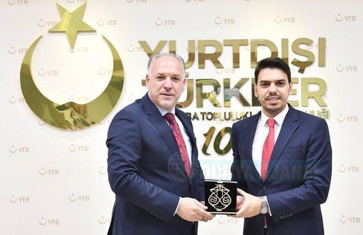 YTB Başkanı Eren'e Kosovalı Bakan Damka'dan anlamlı ziyareti