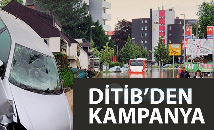 DİTİB'den sel felaketi mağdurlarına destek