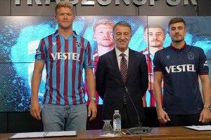 Trabzonspor, yeni transferleri imzayı attı