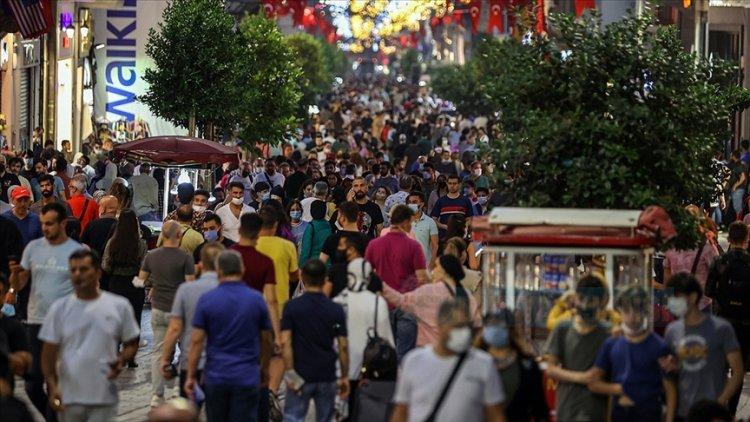 Türkiye'de haftalık 100 bin kişideki vaka sayısı 77 ilde arttı, 4 ilde azaldı