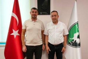 Almanya'dan Ali İnceören yeşil siyahlı Denizlispo'da yöneticiliğe getirildi