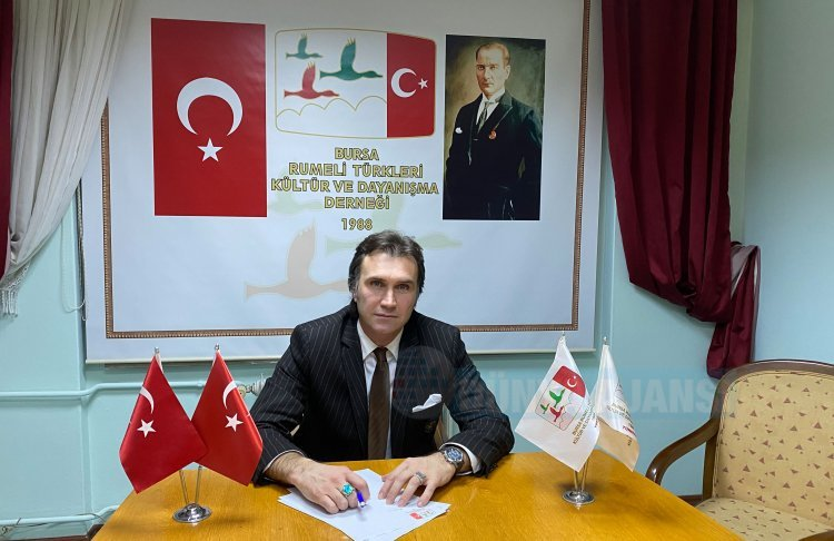 Bursa Rumeli Türkleri Derneği Başkanı Toprak'tan