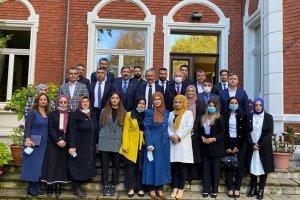 AK Parti Genel Başkan Yardımcısı Ala, Köln'de STK'ları ziyaret etti